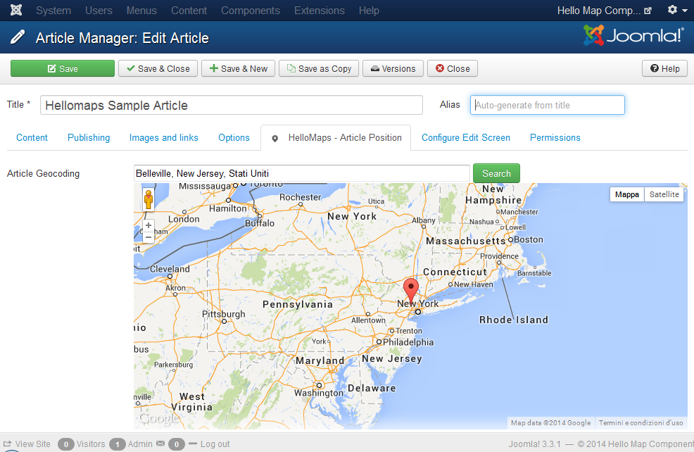 joomla-articles-geocoding